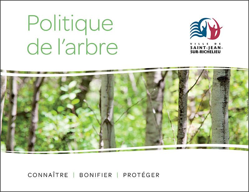 La page couverture de la Politique de l'arbre.