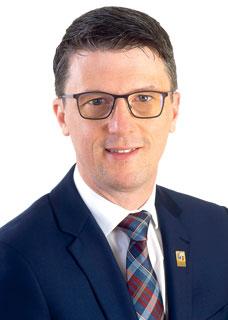 Alain Laplante, maire.