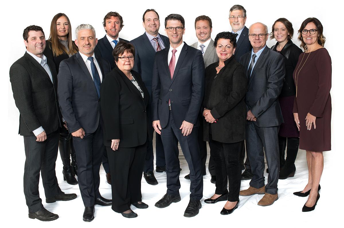 Le conseil municipal 2017.