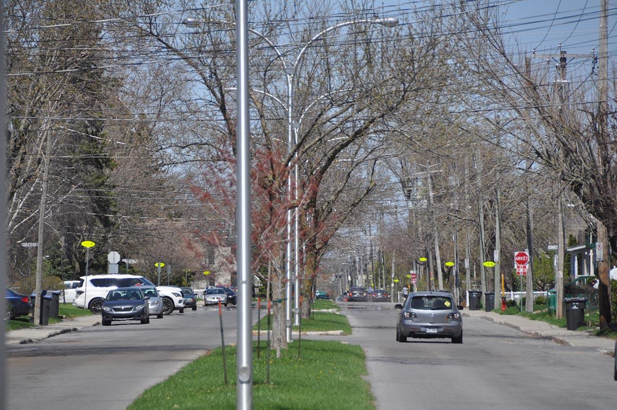 Corridor scolaire de la rue Cousins Nord