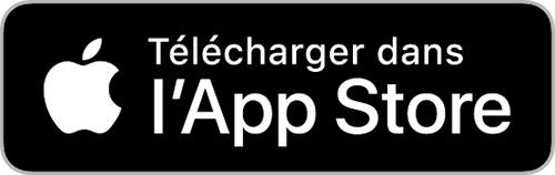 Le logo du App Store.