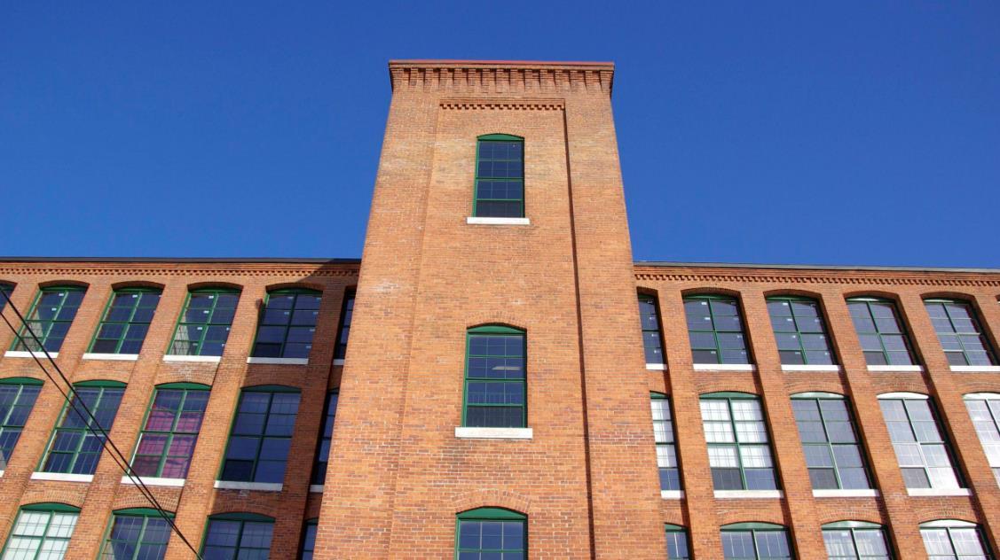La façade du 201 Saint-Louis.
