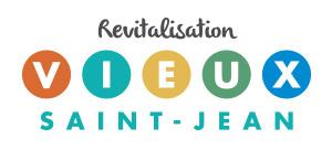 Le logo Revitalisation Vieux-Saint-Jean.