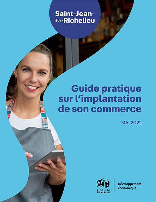 La page couverture du Guide pratique.