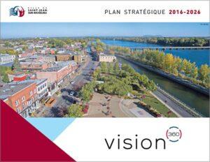 Page couverture du Plan stratégique 2016-2026.