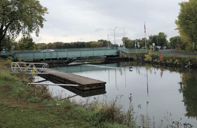 Le pont n°10 du Canal de Chambly.