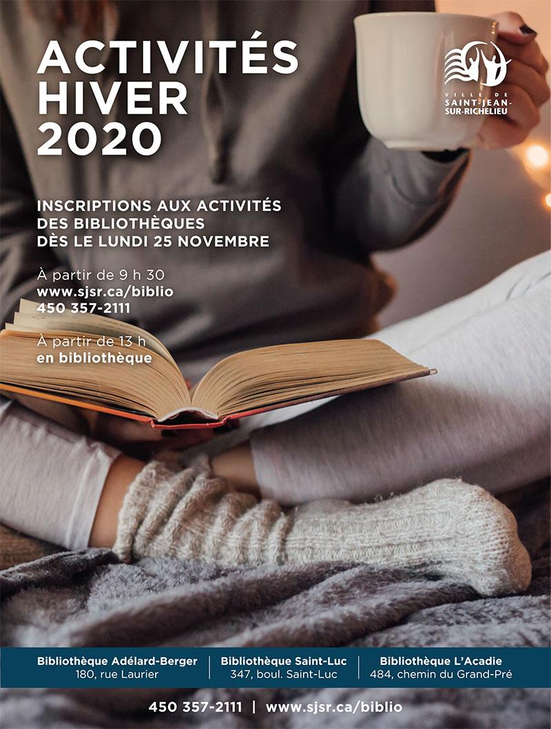 Activités hiver 2020