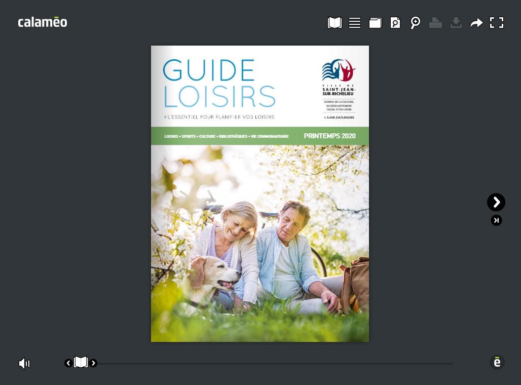 Guide loisirs - Printemps 2020
