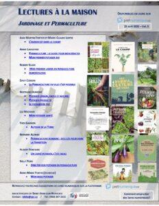 Suggestions de livres de jardinage