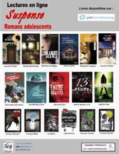 Pochettes de romans pour ados