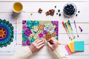 Image de coloriage antistress