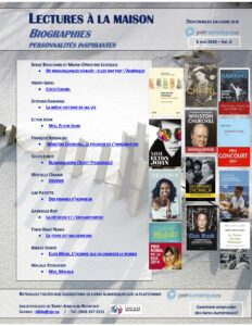 Suggestions de biographies