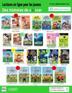 Suggestions de livres sur le soccer