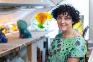l'artiste sculpteure Annick Nabot