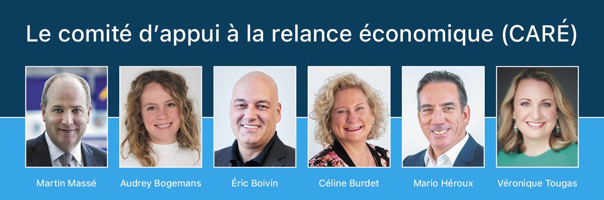 Le comité d'appui à la relance économique.