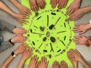 Projet créatif réalisé par des élèves dans le cadre de la stratégie de développement durable