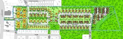 Plan révisé du projet résidentiel du domaine des Légendes