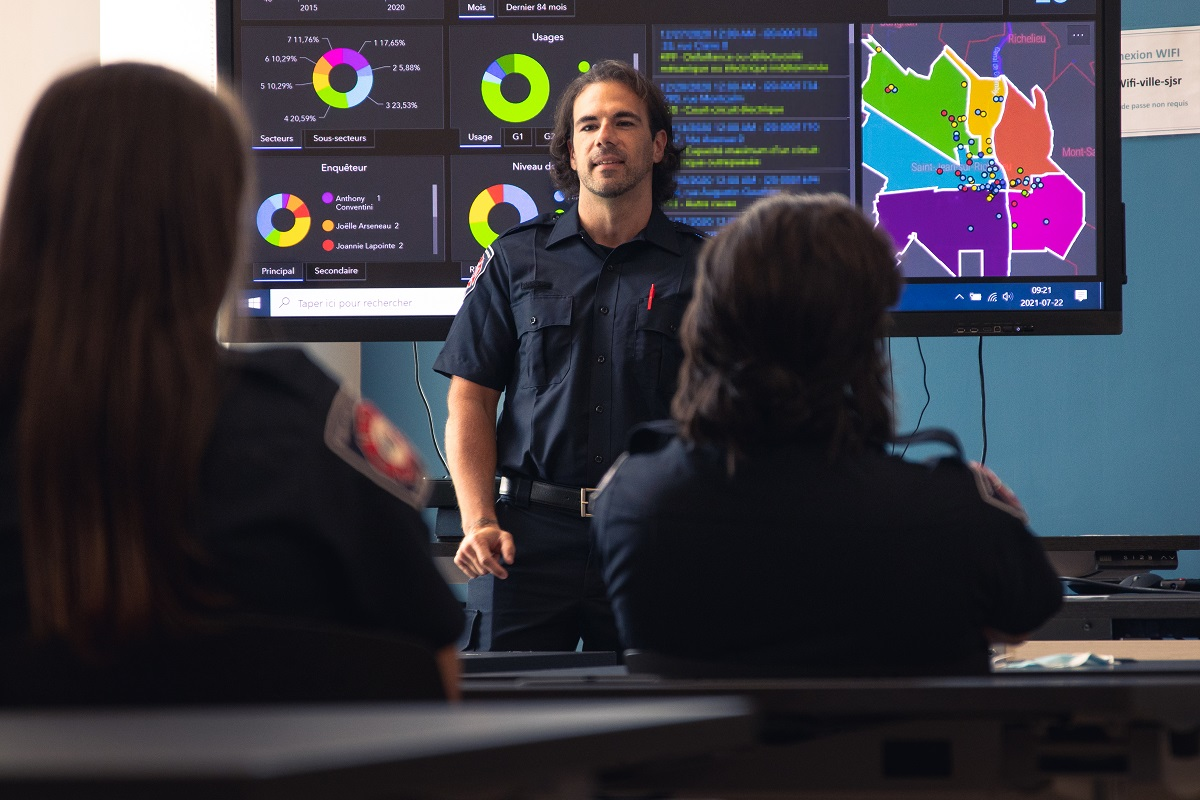 Sécurité incendie: À propos de l'organisation